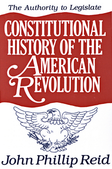 Cover image for Constitutional history of the American Revolution, Vol. 3