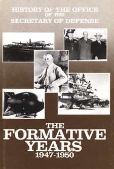 Cover image for History of the Office of the Secretary of Defense