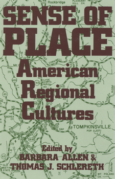 Cover image for Sense of place: American regional cultures