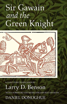 Cover image for Sir Gawain and the Green Knight: a close verse translation