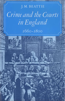 Cover image for Crime and the courts in England, 1660-1800