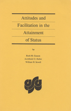 Cover image for Attitudes and facilitation in the attainment of status