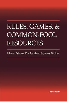 Cover image for Rules, games, and common-pool resources