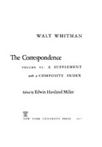 Cover image for The correspondence, Vol. 6