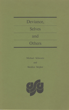 Cover image for Deviance, selves and others