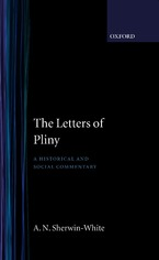 Cover image for The letters of Pliny: a historical and social commentary