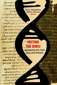 Cover image for Editing the Bible: assessing the task past and present