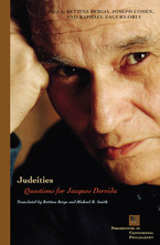 Cover image for Judeities: questions for Jacques Derrida