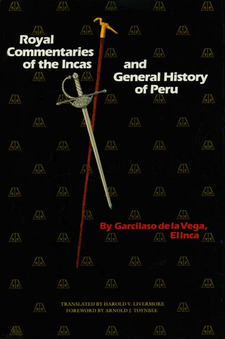 Cover image for Royal commentaries of the Incas, and general history of Peru, Vol. 1