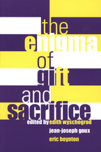 Cover image for The enigma of gift and sacrifice