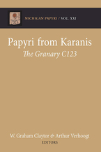 Cover image for Papyri from Karanis: The Granary C123