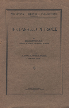 Cover image for The Danegeld in France