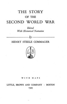 Cover for The story of the second world war