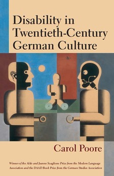 Cover image for Disability in Twentieth-Century German Culture