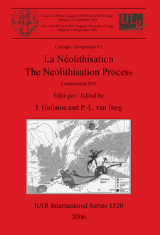 Cover image for La Néolithisation / The Neolithisation Process: Commission XIV