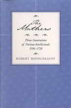 Cover image for The Mathers: three generations of Puritan intellectuals, 1596-1728