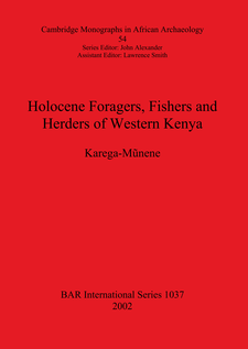 Cover image for Holocene Foragers, Fishers and Herders of Western Kenya