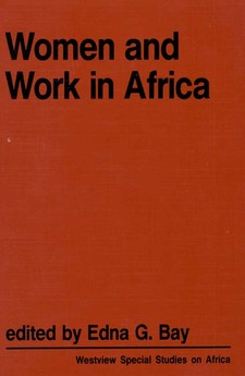 Cover image for Women and work in Africa