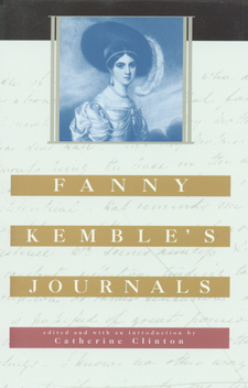 Cover image for Fanny Kemble's journals