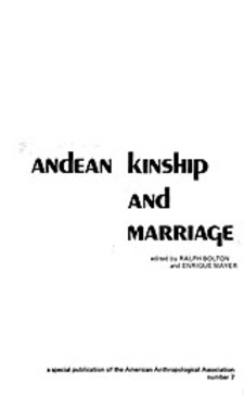 Cover image for Andean kinship and marriage