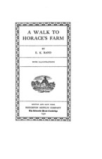 Cover image for A walk to Horace's farm
