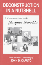 Cover image for Deconstruction in a nutshell: a conversation with Jacques Derrida