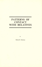 Cover image for Patterns of contact with relatives