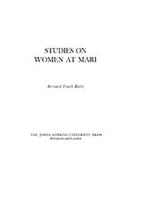 Cover image for Studies on women at Mari