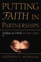 Cover image for Putting faith in partnerships: welfare-to-work in four cities