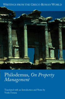 Cover image for Philodemus, On property management