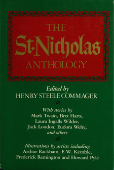 Cover for The St. Nicholas anthology