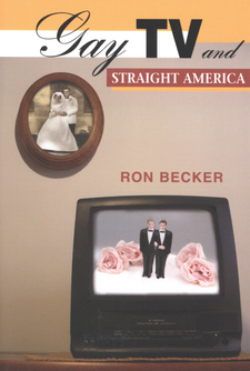 Cover image for Gay TV and straight America