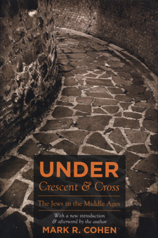 Cover for Under crescent and cross: the Jews in the Middle Ages
