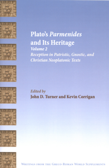 Cover image for Plato's Parmenides and its heritage, Vol. 2