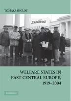 Cover image for Welfare states in East Central Europe, 1919-2004