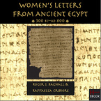 Cover image for Women's letters from ancient Egypt, 300 BC-AD 800