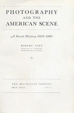 Cover image for Photography and the American scene: a social history, 1839-1889