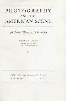 Cover for Photography and the American scene: a social history, 1839-1889