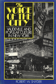 Cover image for The voice of the city: vaudeville and popular culture in New York