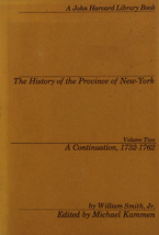 Cover image for The history of the Province of New-York, Vol. 2