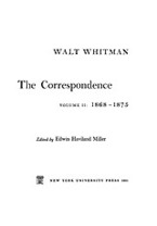 Cover image for The correspondence, Vol. 2