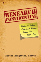 Cover image for Research Confidential: Solutions to Problems Most Social Scientists Pretend They Never Have