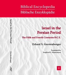 Cover image for Israel in the Persian period: the fifth and fourth centuries B.C.E.