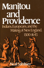 Cover image for Manitou and providence: Indians, Europeans, and the making of New England, 1500-1643
