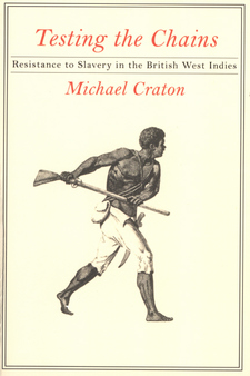 Cover image for Testing the chains: resistance to slavery in the British West Indies