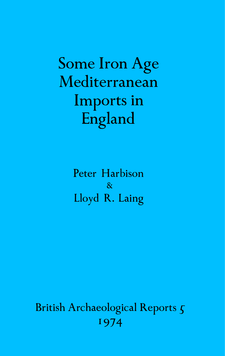 Cover image for Some Iron Age Mediterranean Imports in England