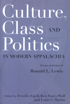 Cover image for Culture, class and politics in modern Appalachia: essays in honor of Ronald L. Lewis