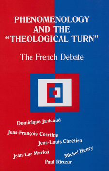 "Cover image for Phenomenology and the ""theological turn"": the French debate"