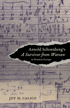 Cover image for Arnold Schoenberg's A survivor from Warsaw in postwar Europe
