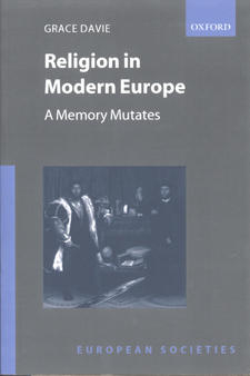 Cover image for Religion in modern Europe: a memory mutates